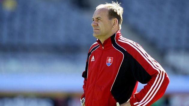Trenér Slovenska Vladimír Weiss