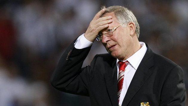 Hlavu plnou problémů má kouč Manchesteru United Alex Ferguson