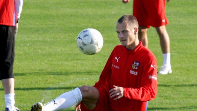 David Rozehnal na srazu fotbalové reprezentace