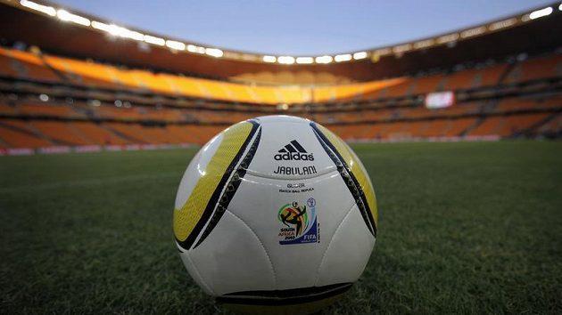 Fotbalový míč Jabulani, s nímž se bude hrát MS v Jihoafrické republice.