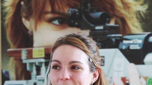 """Kateřina Emmons věří, že si účast v L""""ondýně vystřílí."""