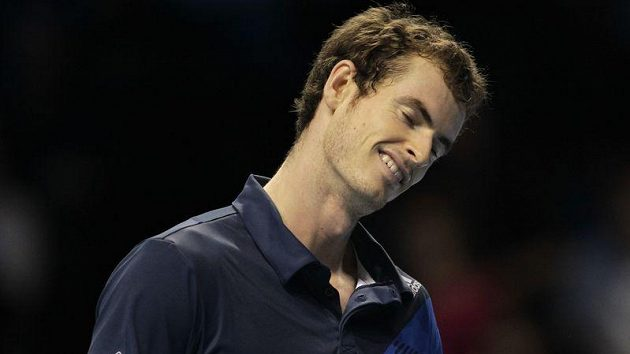 Skotský tenista Andy Murray na Turnaji mistrů