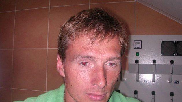 Hokejista Plzně Pavel Vostřák