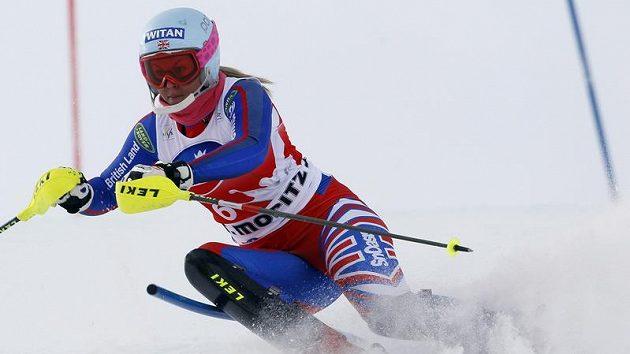 Britská lyžařka Chemmy Alcottová