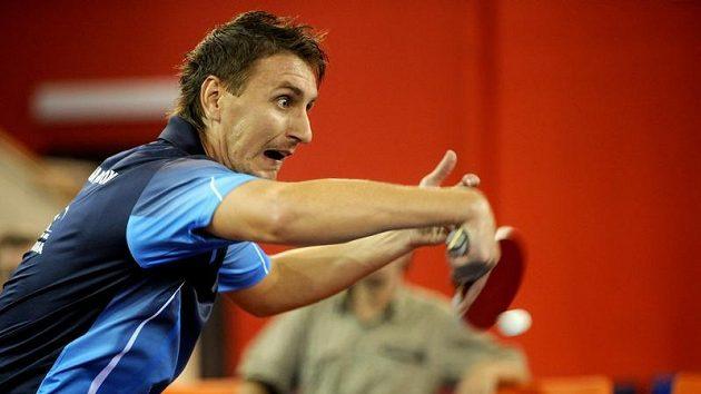 Stolní tenista Dmitrij Prokopcov