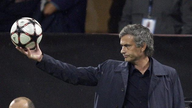 Kouč Interu Milán Jose Mourinho