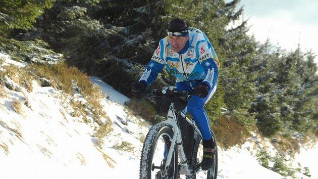 Cyklista Jan Kopka
