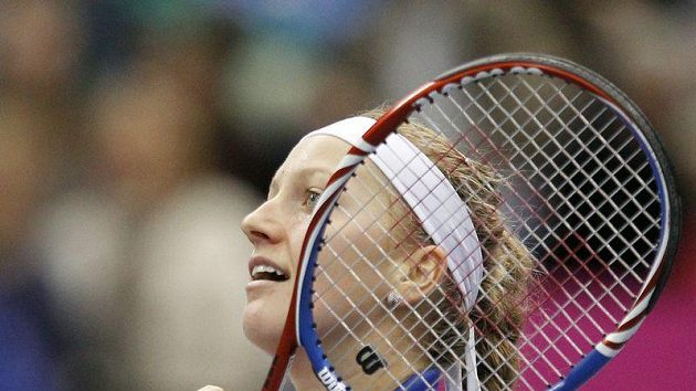 Dobojováno, Petra Kvitová získala v Moskvě pro český tým druhý bod.