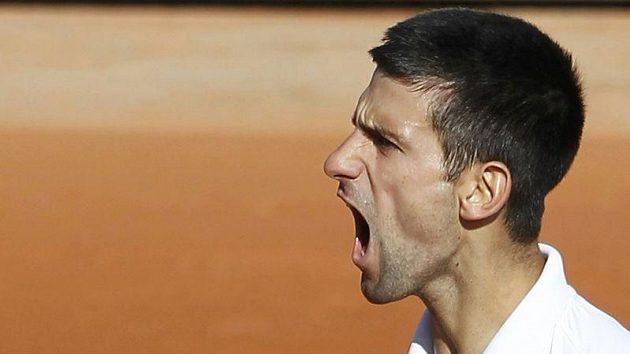 Srbský tenista Novak Djokovič chce prodloužit svou letošní neporazitelnost.