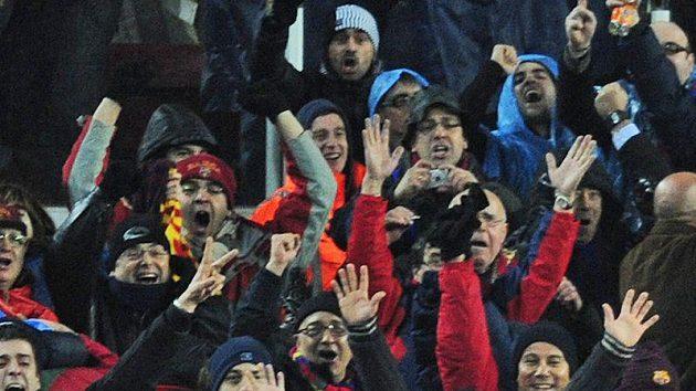 David Villa byl jedním z hrdinů Barcelony v duelu s Realem