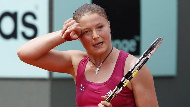Ruská tenistka Dinara Safinová.