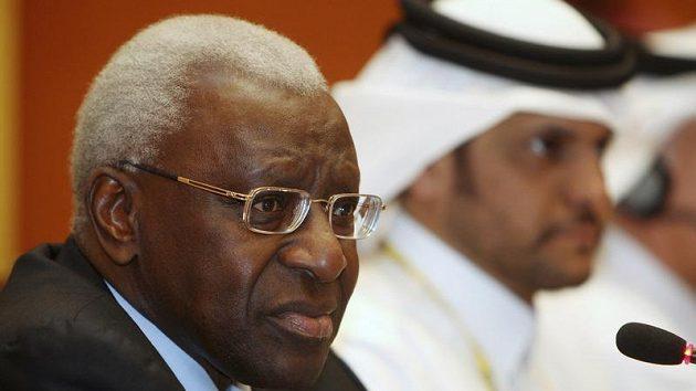 Prezident IAAF Lamine Diack