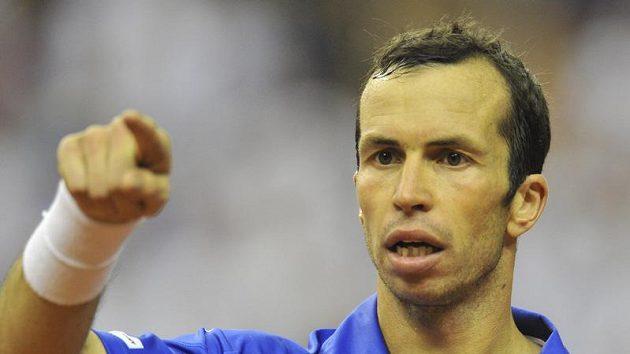 Mohu hrát všechny tři zápasy, hlásí před víkendovým soubojem se Srbskem Radek Štěpánek.