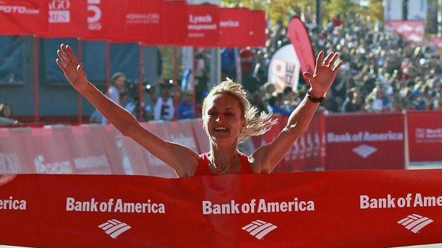 Ruska Lilija Šobuchovová vyhrála Chicagský maraton