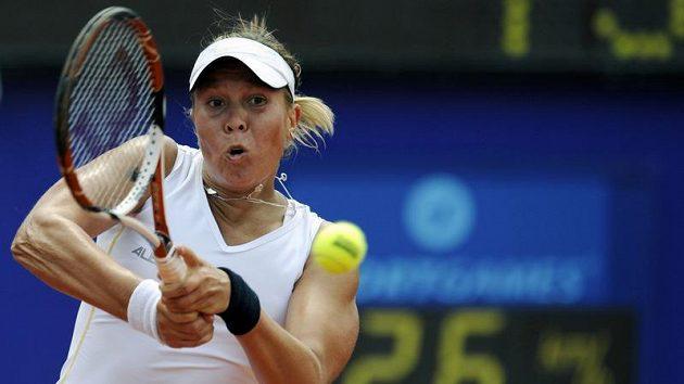 Česká tenistka Luce Hradecká