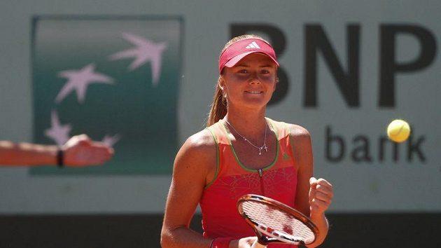 Slovenská tenistka Daniela Hantuchová na letošním Roland Garros
