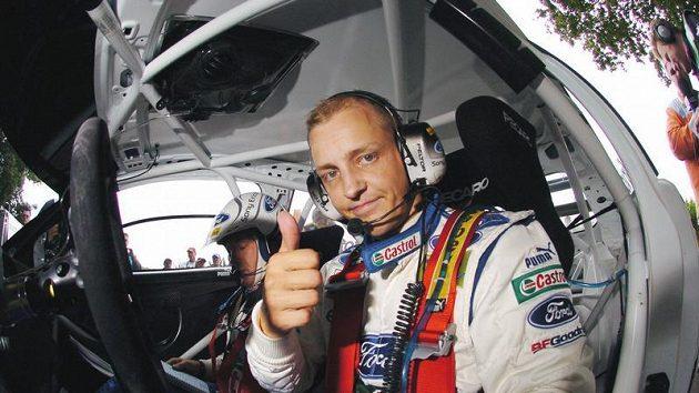 Finský pilot rallye Mikko Hirvonen
