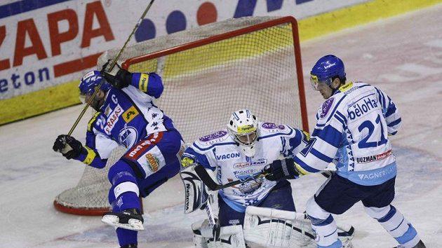 Jiří Dopita (vlevo) bude pokračovat v kariéře.