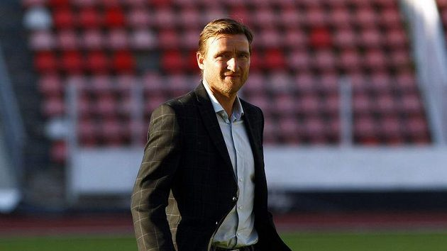 Manažer fotbalové reprezentace Vladimír Šmicer