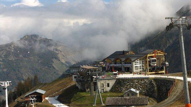 Lyžařský resort Les Grands Montets v Chamonix
