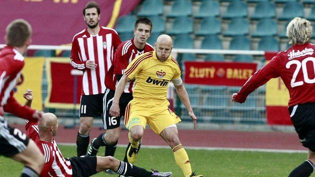 Fotbalisté Viktorie Žižkov se vrátili do první ligy spolu s pražskou Duklou.