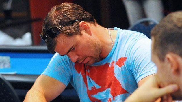 Jaroslav Špaček během charitativního turnaje PokerStars