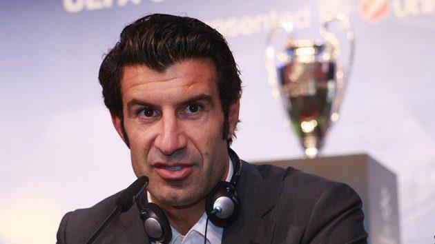 Luis Figo bude kandidovat na post prezidenta FIFA.