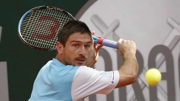 Český tenista Jan Hájek