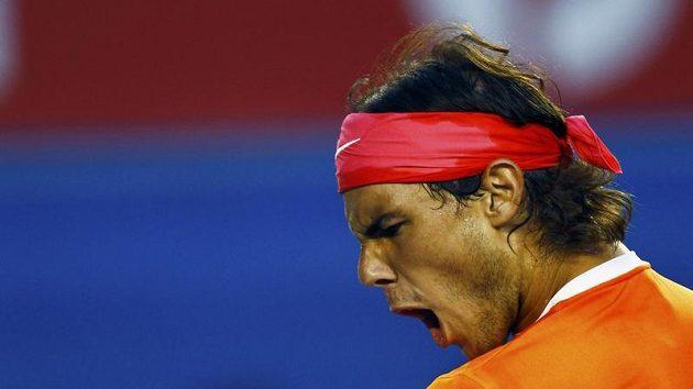 Španělský tenista Rafael Nadal v souboji s Lotyšem Gulbisem nezaváhal.