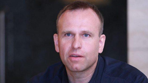 Partner a kondiční trenér Šárky Záhrobské Antonín Strach