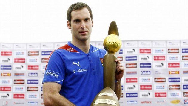 Brankář Petr Čech získal Zlatý míč České republiky i v minulém roce.