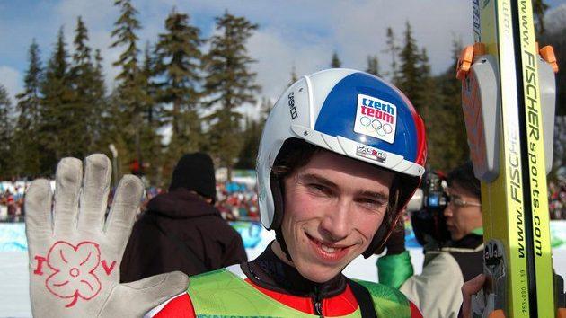 Český skokan na lyžích Antonín Hájek