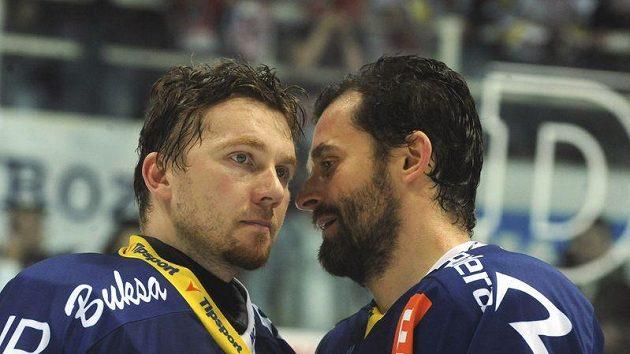 Takto zklamaní končili vítkovičtí hokejisté minulou sezónu.