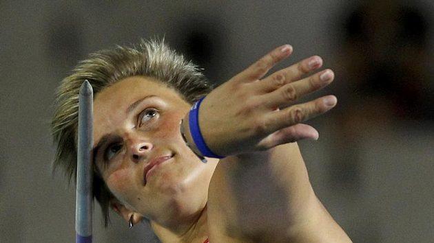 Barbora Špotáková ve finále atletického mistrovství Evropy v Barceloně.