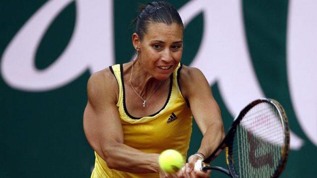 Italka Flavia Pennettaová potvrdila dva týdny před zápasem Fed Cupu s českými tenistkami výbornou formu vítězstvím na turnaji v Marbelle.