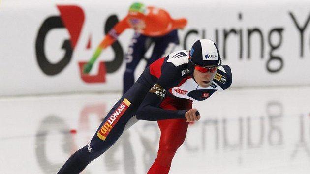 Martina Sáblíková nemá zatím na trati 3000 metrů konkurenci.