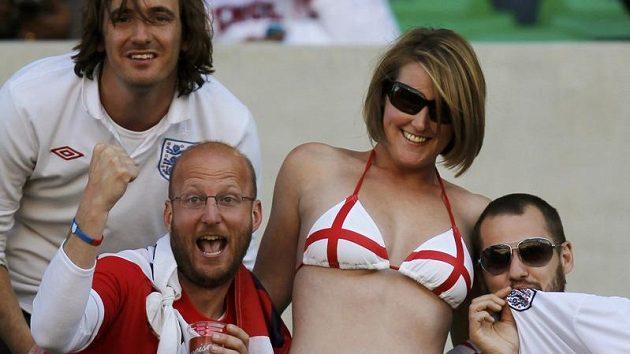 Angličtí fanoušci
