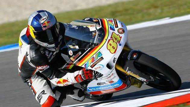 Český motocyklový závodník Jakub Kornfeil.