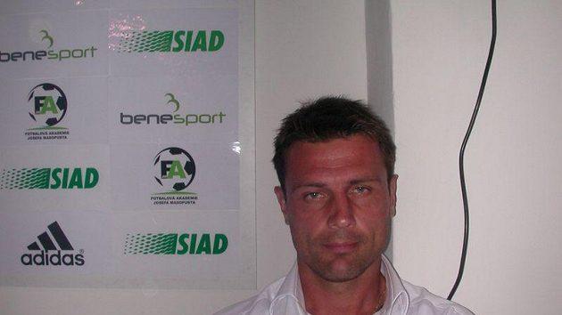 Fotbalový trenér René Wagner