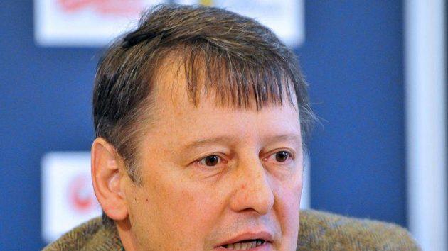 Předseda arbitrážní komise ČSLH Vladimír Balaš
