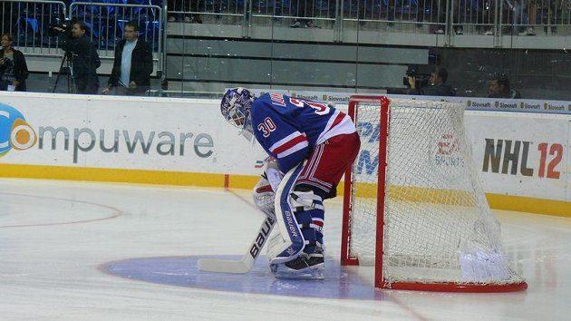 Hokejisté New Yorku Rangers v generálce na NHL propadli.