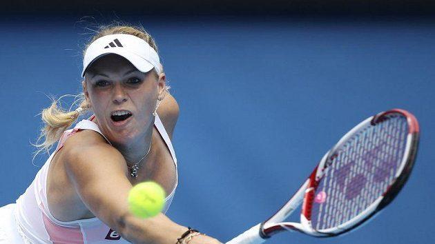Dánská tenistka Caroline Wozniacká vyřadila v prvním kole Australian Open Giselu Dulkovou z Argentiny.