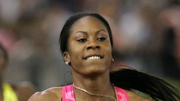 Americká běžkyně Sanya Richardsová
