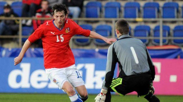 Libor Kozák v dresu české fotbalové reprezentace do 21 let