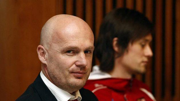Trenér Michal Bílek si při pondělním srazu reprezentace konečně oddechl.