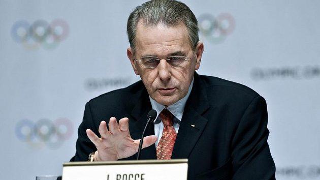 Předseda Mezinárodního olympijského svazu Jacques Rogge