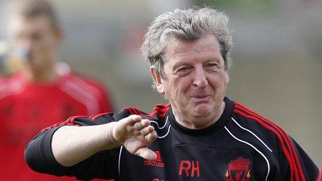Liverpoolský trenér Roy Hodgson