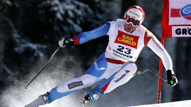 Švýcarský lyžař Silvan Zurbriggen