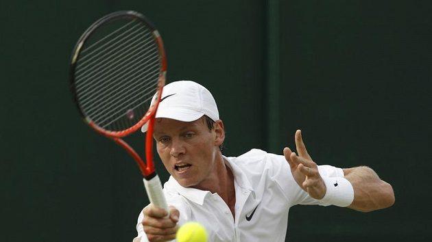 Tomáš Berdych na Wimbledonu