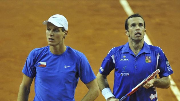 Kapitán Navrátil povolal proti Itálii Tomáše Berdycha (vlevo) i Radka Štěpánka.